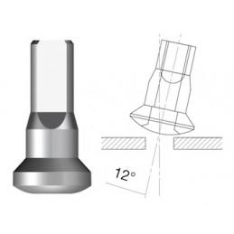 Ecrou Sapim Polyax Aluminium interne